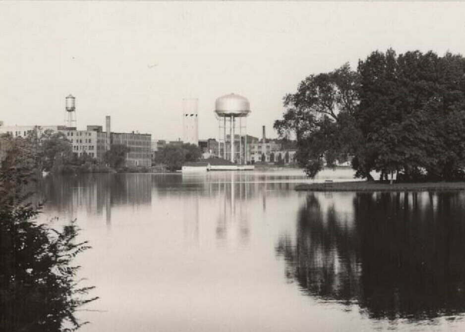 Concrete and Steel Water Towers